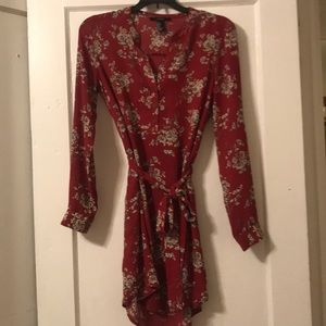 Small long sleeve Forever 21 fall dress